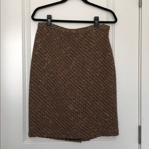 NWT winter pencil skirt! Size 8P-Ann Taylor